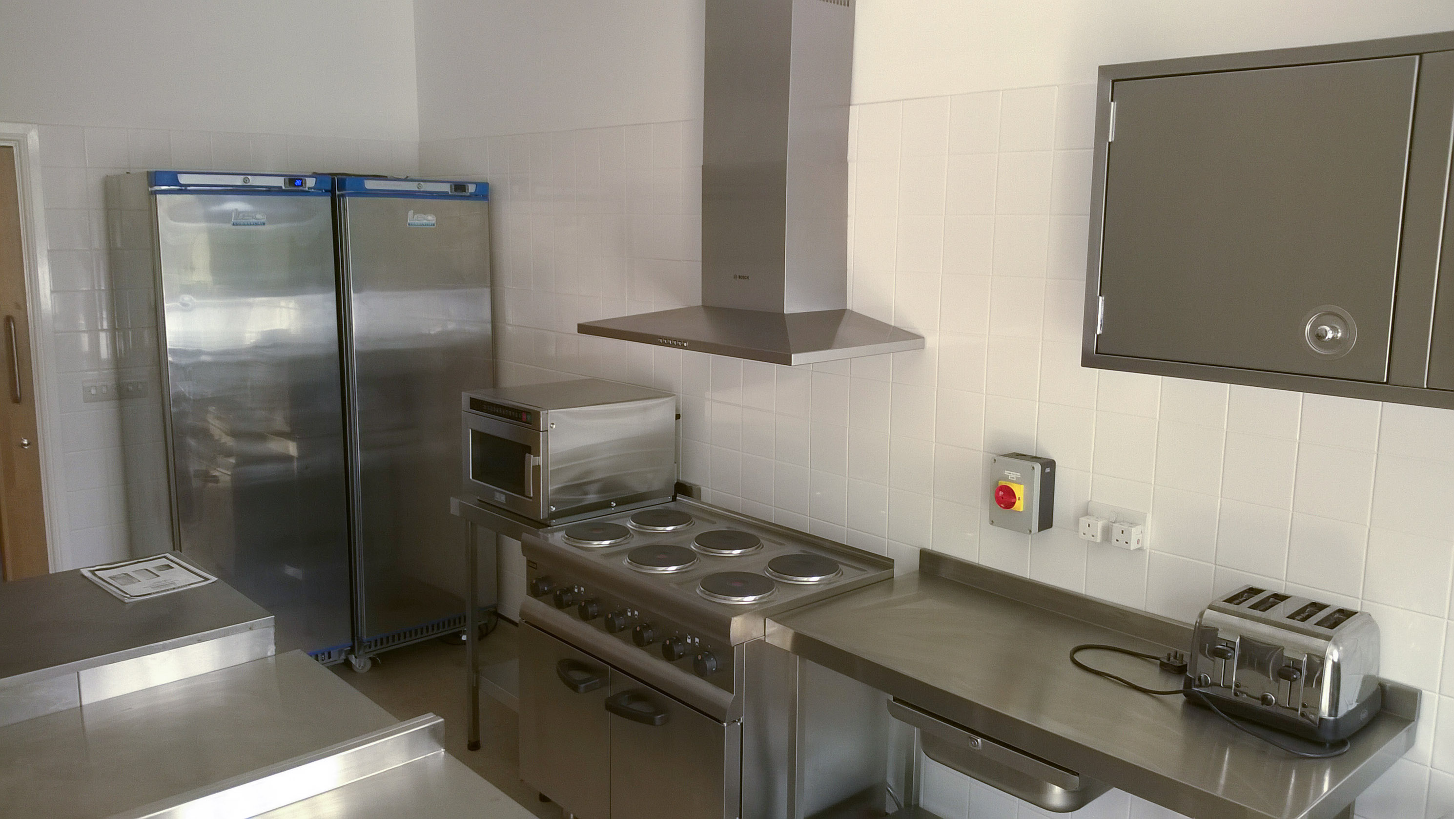 Use our professional grade kitchen